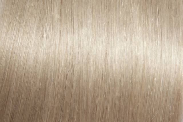 Clip on extensions 40 cm - Europeisk hår - Kald blond #101