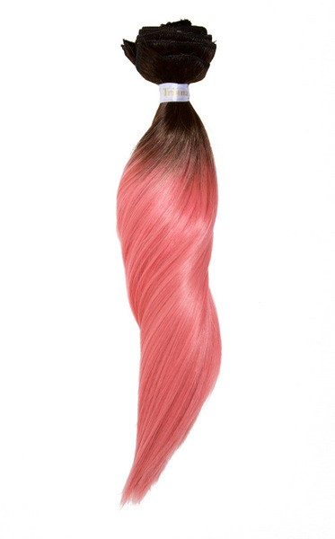 Hair-extensions OMBRE #2/#ROSA