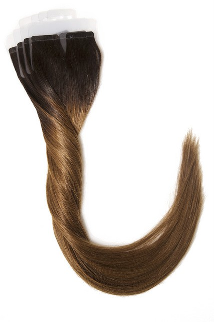 Ombre farge 2/6 Tape extensions 35 cm